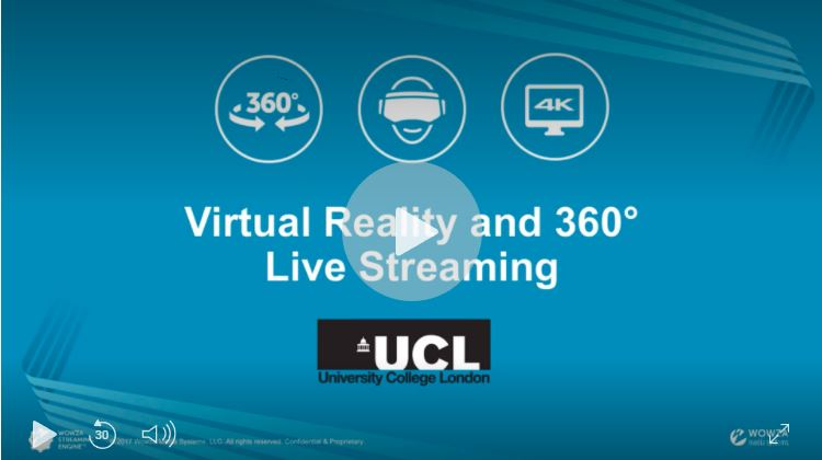 Stream 4K 360° Content to Facebook Live with Wowza Streaming